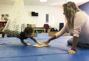 Children receive therapies through play