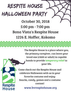 Respite House Halloween Party!