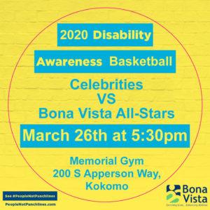 2020 Disability Awareness Basketball