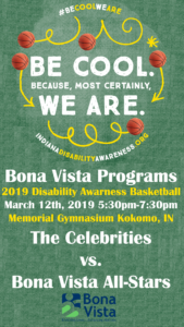 2019 Disability Awareness Basketball Game @ Kokomo Memorial Gym