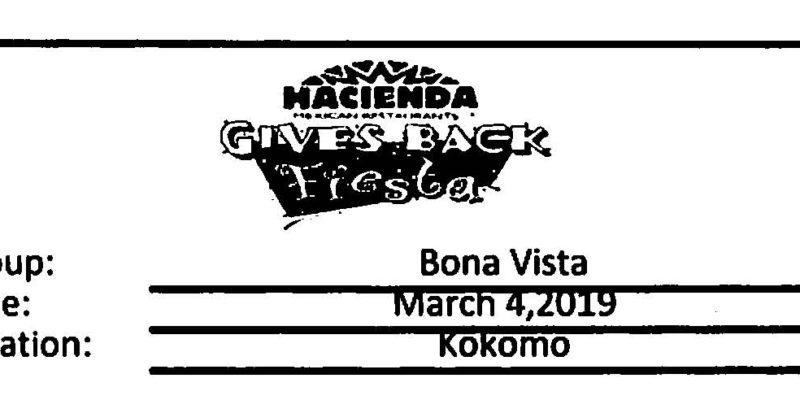 Hacienda Give Back Day for Bona Vista!