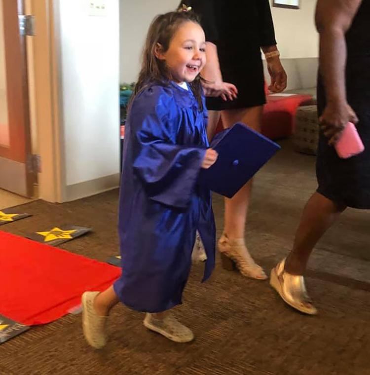 Sixteen graduate from Bona Vista's preschool program