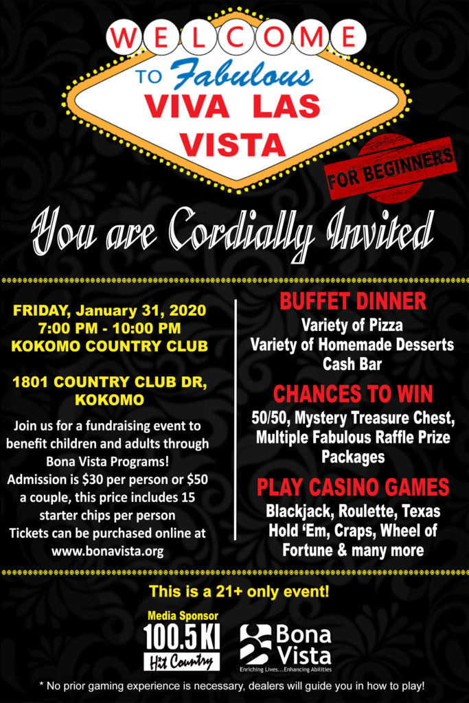 Viva Las Vista Casino Event!