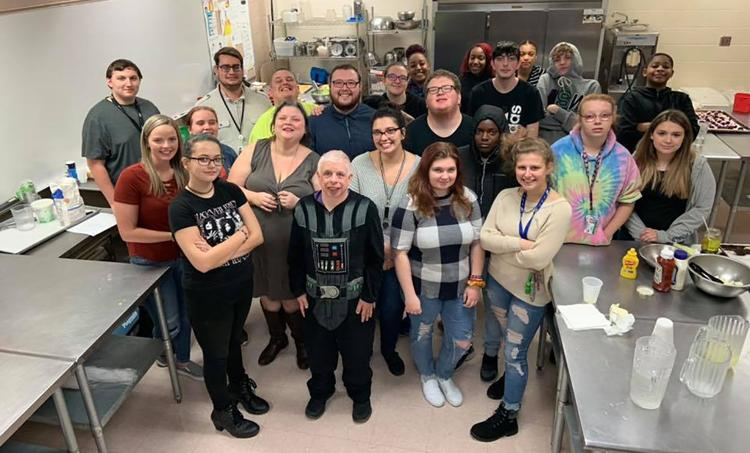 Culinary arts students help perfect '80s-themed menu