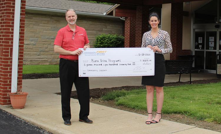 Community First Bank donates over $96,000 to Hoosier nonprofits