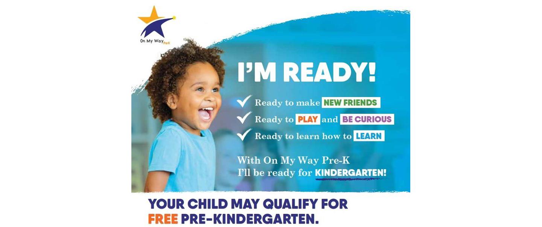 On My Way FREE Pre-Kindergarten
