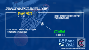 Disability Awareness Basketball Game @ Virtual Bona Vista Facebook Live