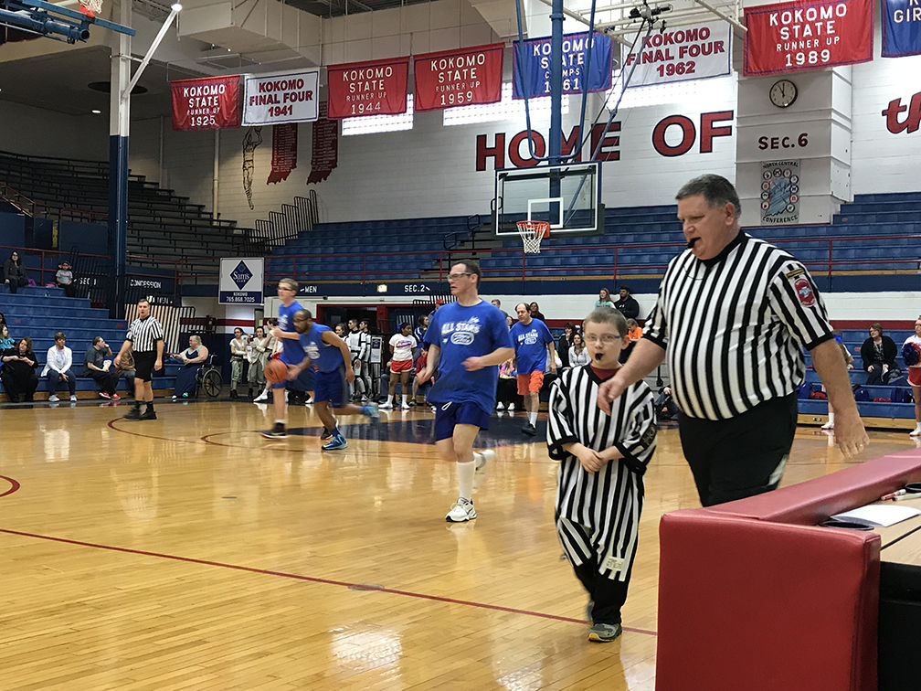 2018 Disability Awareness Basketball Game Pictorial