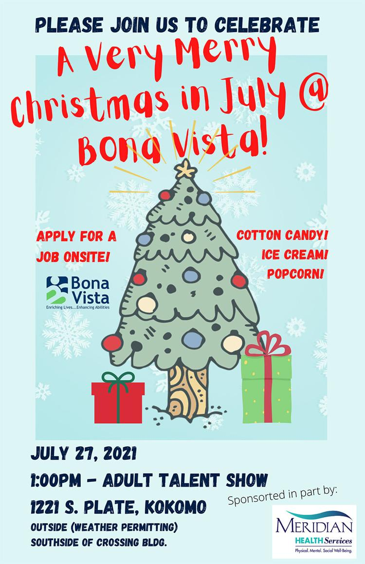 Celebrate Christmas in July with Bona Vista